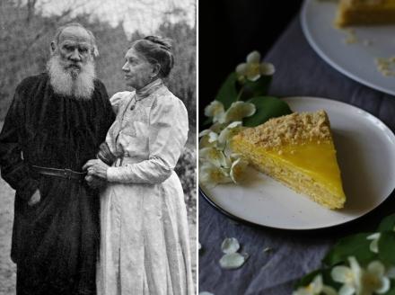 анковский пирог, рецепт, Лев Толстой, Софья Андреевна Толстая, Ясная Поляна