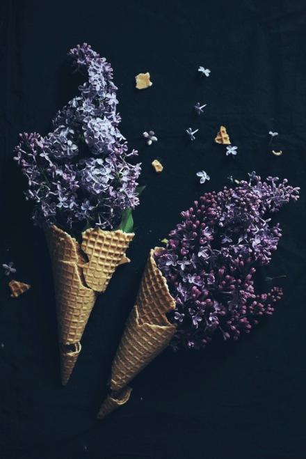 Северянин Мороженое из сирени