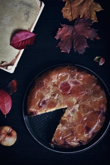 Янтарный яблочный пирог Татьяны Толстой