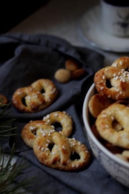 Sukkerkringler крендельки датская выпечка дания рождество