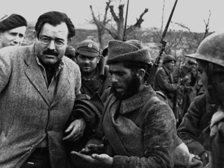 Хемингуэй, война в Испании