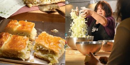 Пирог с капустой, капустный пирог, Татьяна Толстая, рецепт